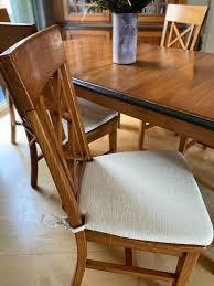esszimmer vitrinenschrank mediterran tisch 6 stühle echtholz