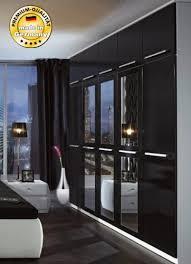 kleiderschrank schlafzimmer schrank 97990 weiß schwarz