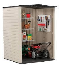6 X 6 Rubbermaid Storage Shed by Amazon Com Rubbermaid Roughneck Plastic Medium Vertical Storage