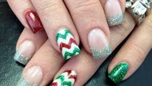 30 festive Christmas acrylic nail designs – Christmas s