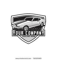 OLD CAR RETRO THEME LOGO TEMPLATE