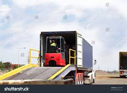 Semi Truck Forklift Driver On Loading Stock Photo (Edit Now) 2580487 ... Forklift Ramps Vs Loading Medlin Truck Ramps South Africa Steel For Pickup Trucks Trailers Used Portable Ramp Sale Or Rent Nation Dirt Bike Hitch Carrier Jp Metal Fabrication 1000lb Nonslip Atv 9 X 72 6t Hydraulic Mobile Forklift Truck Loading Ramp Dcqy608 Smart My Homemade Sled Arcticchatcom Arctic Cat Forum Amazoncom 75 Ft Alinum Plate Top Lawnmower Tacoma World Other Equipment Promech