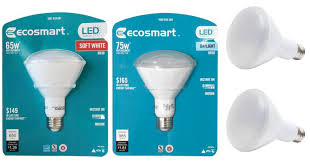 home depot 44 led light bulbs ecosmart 65w led light bulb