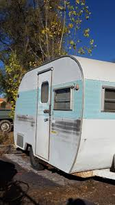 100 Restored Travel Trailers For Sale Vintage 1963 Yellowstone 13 Ft Canned Ham Cutest Trailer Sale