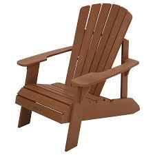 lifetime recycled plastic adirondack chair walmart com