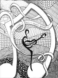 Where Words Fail Music Speaks More Coloring Pages