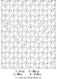 Hard Color By Number Coloring Pages Free Printable Advanced