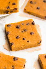 Bake Pumpkin For Pies by Chocolate Chip Pumpkin Pie Brownies Amy U0027s Healthy Baking