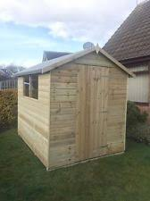6 X 5 Apex Shed by 6 X 5 Wooden Shed Ebay
