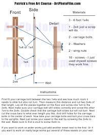 Diy Sandblast Cabinet Plans by Another Diy Large Wall Easel Plan 20 By Pw Lawrence Tips For