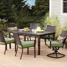 Mainstays Jefferson Wrought Iron Neat Patio Furniture Clearance
