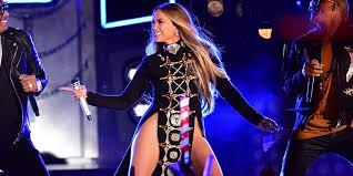 Jennifer Lopez Wears Dangerously High Cut Double Slit