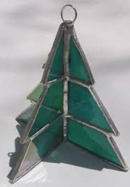 Stained Glass 3D Christmas Tree Ornament By Wjoydesigns On Etsy 2050