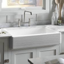 Kohler Whitehaven Sink 33 by Kohler Kitchen Sinks And A Puddle Of Water In The Bowl Kohler