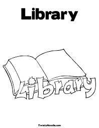 Trend Library Coloring Pages 94 For Your Online With
