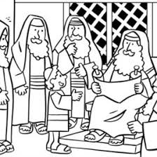 1000 Images About Jesus In The Temple 12 Coloring Page Of Teaching