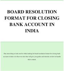 Board Resolution Open Bank Account Bpi Board Resolution Open Bank