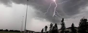 Sydney Lightning Storms 6th April 2015