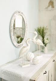 deko figuren white birds