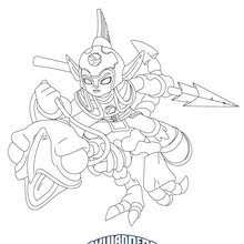 IGNITOR FRIGHTRIDER Coloring Page