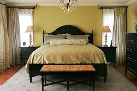 Image Of Modern Bedroom Window Treatment Ideas