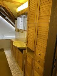 badezimmer schrank unterschrank einrichtung wand kiefer in