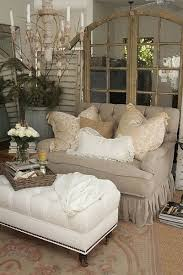 Cozy Rustic Decortan Couch And White Loving It