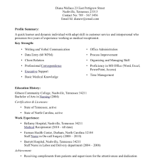 Medical Assistant Resume Samples Template Examples Cv Cover Job For Office 20
