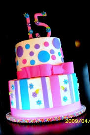 Sweet 15 Birthday Cake CakeCentral