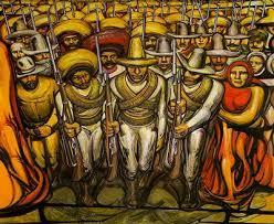 línea de ensamblaje por david alfaro siqueiros murals