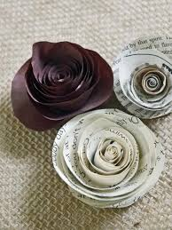 Original Birds Party Rolled Paper Roses Beauty S3x4