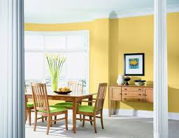 psychologie der farben wandfarbe küche dekor esszimmer