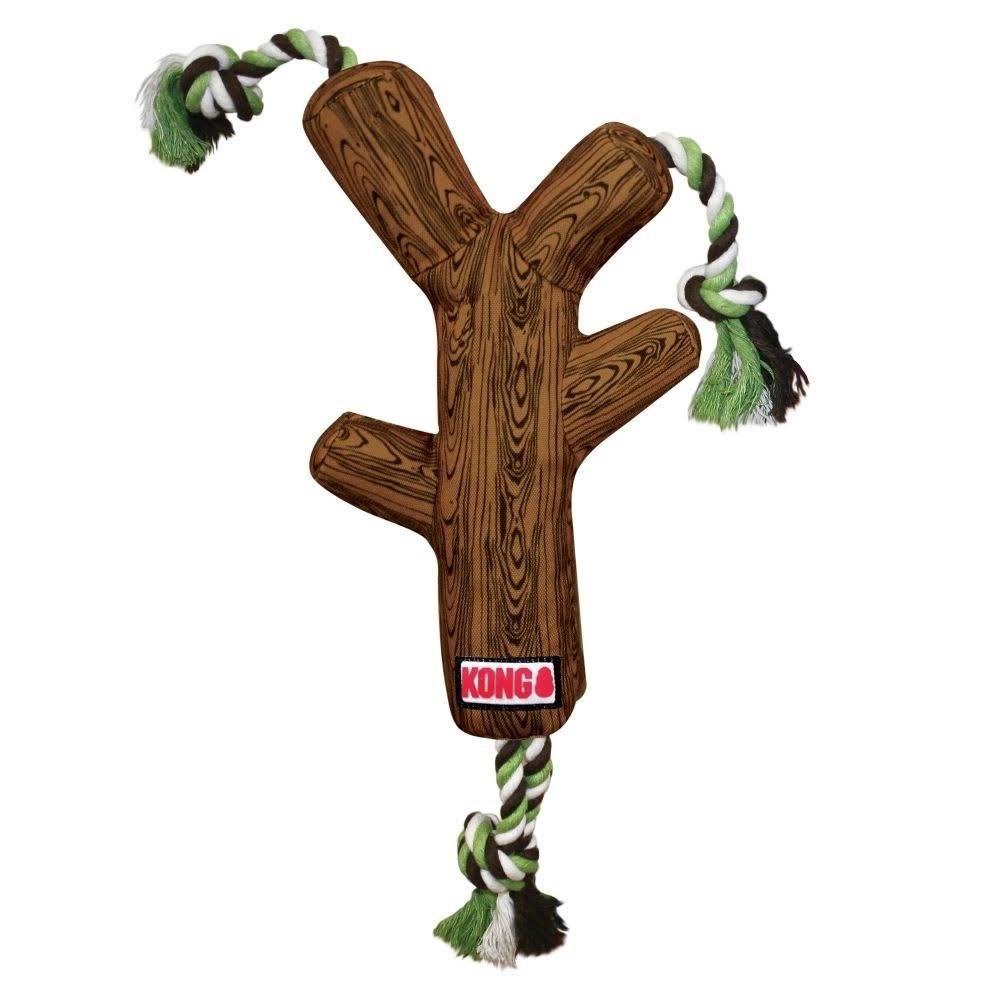 KC47583 Fetch Stix Toy - with Rope, Brown, Medium