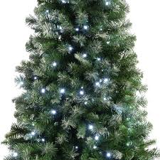 Slim Pre Lit Christmas Trees by Pre Lit Slim Frosted Christmas Tree With 200 White Led Lights 6