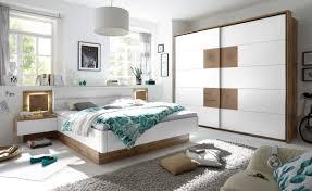 schlafzimmer komplett set 4 tlg bett 180 kleiderschrank 270 cm nachtkommoden weiß wildeiche