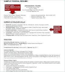 Sample Resume For Government Job In Malaysia Federal Jobs Template T