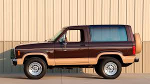 100 Ford Unibody Truck For Sale Almost Classic 19841990 Bronco II Hagerty Articles