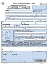 DS 82 Application Form for Passport Renewals