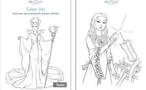 8 Printable Disneys Maleficent Activity Sheets