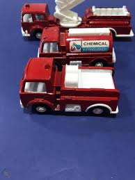 100 Tootsie Toy Fire Truck 1970s Old Vintage Antique Toy