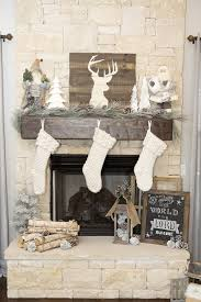 Farmhouse Christmas Decor With A Neutral Tree And Mantel