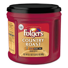Folgers Coffee Country Roast 311 Oz Canister FOL20631