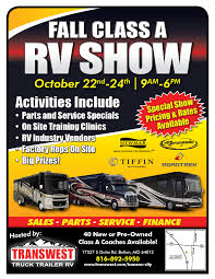 100 Transwest Truck And Trailer Hosts Fall RV Show