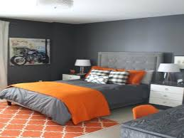 grau und orange schlafzimmer orange schlafzimmer orange
