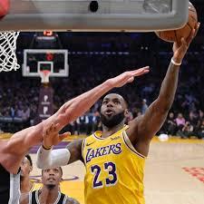 NBA LeBron James Verliert Zum Dritten Mal Mit Den Los Angeles