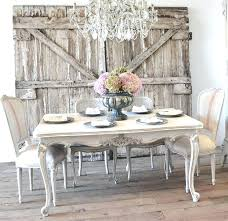 Country French Dining Room Furniture Set Chairs On For
