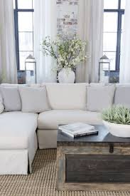 Pottery Barn Charleston Sofa Slipcover Craigslist by Best 25 White Sectional Ideas On Pinterest Lounge Ideas Grey