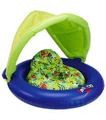 Inflatable Tubes For Toddlers by Speedo Kids U0027 Fabric Baby Cruiser With Canopy 6mos 24mos At
