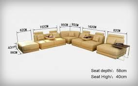 canapé d angle modulable en cuir italien belem