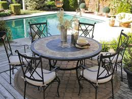 8 Person Patio Table by Patio 19 Beautiful Round Patio Dining Set In Interior Design